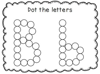 Letter Learners: Dot The Letter