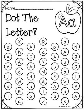 Dot The letter