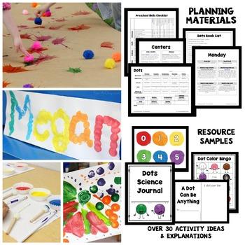 Dot Theme Preschool Lesson Plans