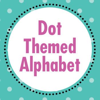 Dot Themed Alphabet