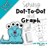 Dot-To-Dot And Graph -Spring -Count by 1s