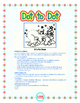 """Dot-To-Dot """"B is for Christmas Bear"""" with Alphanumeric Characters"""