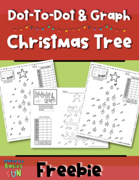 Dot-To-Dot and Graph Christmas Freebie