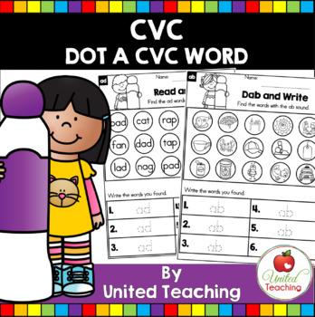 Dot a CVC Word Bundle
