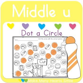 Dot a Circle: Middle u