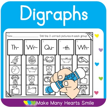 Dot a Clip:  Digraphs Review