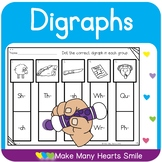 Dot a Clip:  Digraphs Review     MMHS21