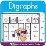 Digraphs Review Dot a Clip     MMHS21