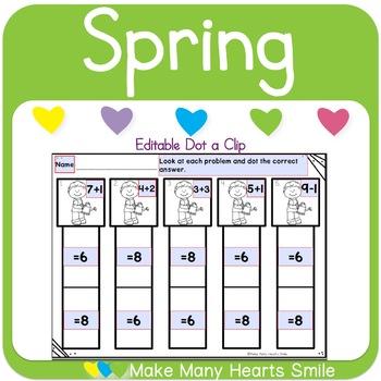 Dot a Clip: Spring