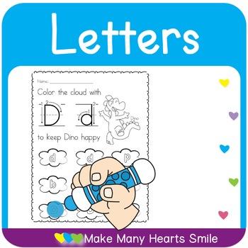 Dot a Cloud: Letters