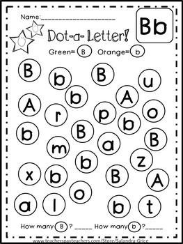 Dot-a-Dot Letters
