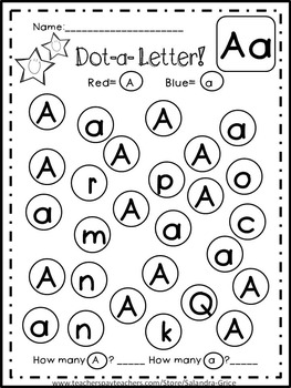 Dot-a-Dot Letters, Sight Words, and Word Families!