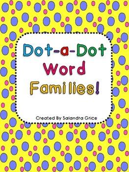Dot-a-Dot Word Families!