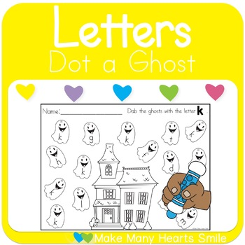 Dot a Ghost: Letters    MMHS24