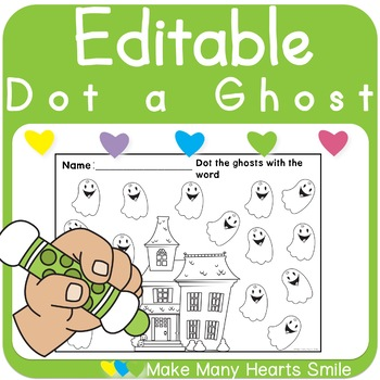 Dot a Ghost: Letters