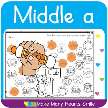 Dot a Picture: Middle a
