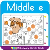 Dot a Picture: Middle e