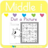 Dot a Picture: Middle i