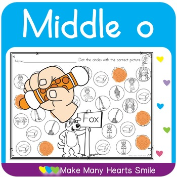Dot a Picture: Middle o