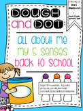 BACK TO SCHOOL/ALL ABOUT ME Playdough, Dot Marker Activities for Speech Therapy