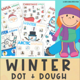 WINTER and CHRISTMAS Playdough and Dot Marker Activities #