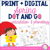 Dot and Go Articulation and Phonology: Spring (Print + Digital)