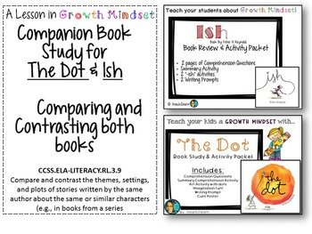 Growth Mindset - Dot and Ish Companion Study- Compare and Contrast