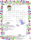 Dot and Jabber Spelling Crossword