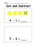 Dot and Subtraction Book