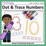 Dot and Trace Numbers - No Prep Worksheets