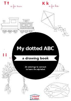 Dot drawings ABC