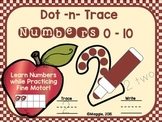 Dot-n-Trace Numbers to 10 Center Set