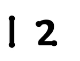 Dot numbers and symbols