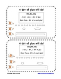 Dot of glue- practice gluing worksheet