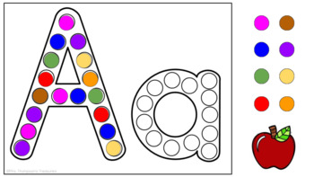 Dot the Alphabet - Letter & Sound Recognition