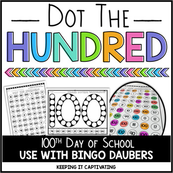 Dot the Hundred {100th Day of School}