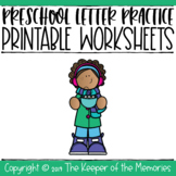 Dot the Letter Preschool Activity Sheets