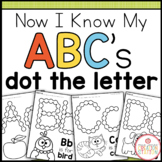 Alphabet Dot the Letter {Now I Know My ABC's Series}