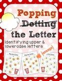 Dot the Letter- Popcorn Themed
