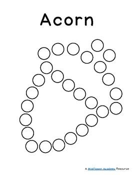 Dot-to-Doh Acorn