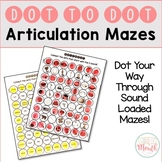 Dot to Dot Articulation Mazes