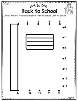 Dot to Dot - Back to School