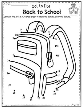 Dot to Dot - Backpack Free
