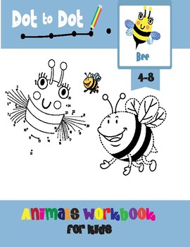 Dot to Dot Books for Kids ages 4-8 by I am a Happy Teacher ...