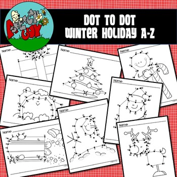 Dot to Dot / Connect the Dots A - Z - CHRISTMAS / WINTER