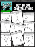 Dot to Dot / Connect the Dots - CONSTELLATIONS