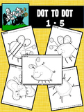 Dot to Dot / Connect the Dots 1 - 5