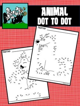 Dot to Dot / Connect the Dots Animals 1 - 100+