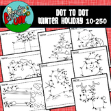 Dot to Dot / Connect the Dots Skip 10 - 250 - CHRISTMAS / WINTER
