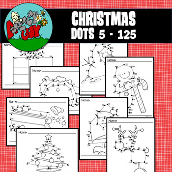 Dot to Dot / Connect the Dots Skip 5 - 125 - CHRISTMAS / WINTER